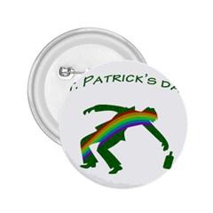 St  Patricks 2 25  Buttons by Valentinaart