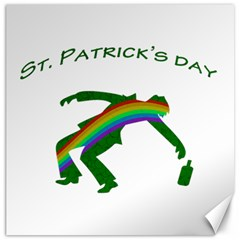 St  Patricks Canvas 16  X 16   by Valentinaart