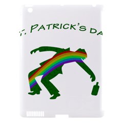 St  Patricks Apple Ipad 3/4 Hardshell Case (compatible With Smart Cover) by Valentinaart