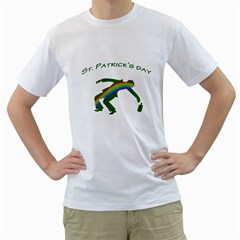 St  Patricks Men s T Shirt (white)  by Valentinaart