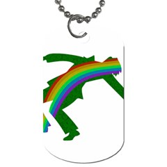 St  Patricks Dog Tag (two Sides) by Valentinaart