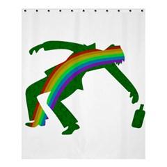 St  Patricks Shower Curtain 60  X 72  (medium)  by Valentinaart