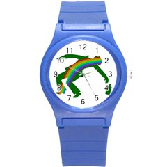 St  Patricks Round Plastic Sport Watch (s) by Valentinaart