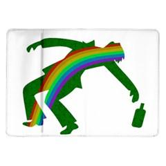 St  Patricks Samsung Galaxy Tab 10 1  P7500 Flip Case by Valentinaart