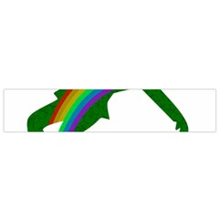 St  Patricks Flano Scarf (small) by Valentinaart