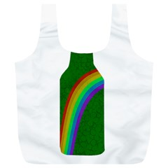 St  Patricks Full Print Recycle Bags (l)  by Valentinaart