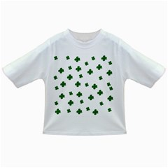 St  Patrick s Clover Pattern Infant/toddler T Shirts by Valentinaart