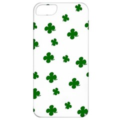 St  Patrick s Clover Pattern Apple Iphone 5 Classic Hardshell Case by Valentinaart