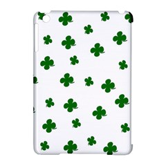 St  Patrick s Clover Pattern Apple Ipad Mini Hardshell Case (compatible With Smart Cover) by Valentinaart