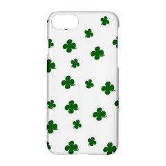 St  Patrick s Clover Pattern Apple Iphone 7 Hardshell Case by Valentinaart