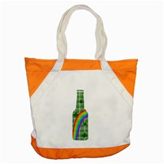 St  Patricks Day   Bottle Accent Tote Bag by Valentinaart