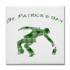 St  Patrick s Day Tile Coasters by Valentinaart