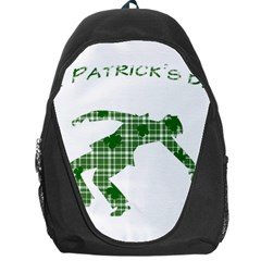 St  Patrick s Day Backpack Bag by Valentinaart
