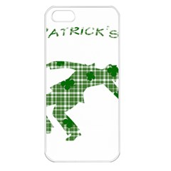 St  Patrick s Day Apple Iphone 5 Seamless Case (white) by Valentinaart