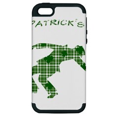 St  Patrick s Day Apple Iphone 5 Hardshell Case (pc+silicone) by Valentinaart