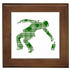 St  Patrick s Day Framed Tiles by Valentinaart