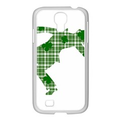 St  Patrick s Day Samsung Galaxy S4 I9500/ I9505 Case (white) by Valentinaart