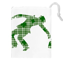St  Patrick s Day Drawstring Pouches (xxl) by Valentinaart