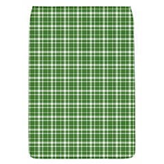 St  Patricks Day Plaid Pattern Flap Covers (l)  by Valentinaart