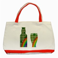 St  Patrick s Day Classic Tote Bag (red) by Valentinaart