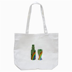 St  Patrick s Day Tote Bag (white) by Valentinaart