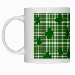 St  Patrick s Day Pattern White Mugs by Valentinaart