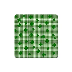 St  Patrick s Day Pattern Square Magnet by Valentinaart