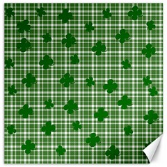 St  Patrick s Day Pattern Canvas 16  X 16   by Valentinaart