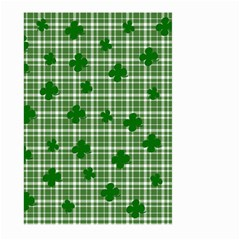 St  Patrick s Day Pattern Large Garden Flag (two Sides) by Valentinaart