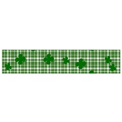 St  Patrick s Day Pattern Flano Scarf (small) by Valentinaart