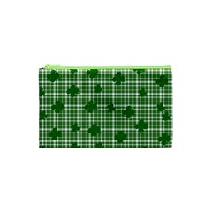 St  Patrick s Day Pattern Cosmetic Bag (xs) by Valentinaart
