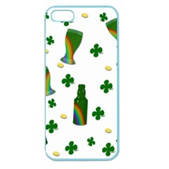 St  Patricks Day  Apple Seamless Iphone 5 Case (color) by Valentinaart