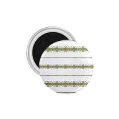 Ethnic Floral Stripes 1 75  Magnets by dflcprints