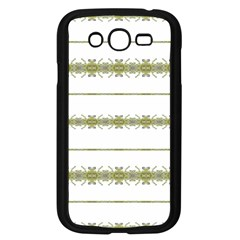 Ethnic Floral Stripes Samsung Galaxy Grand Duos I9082 Case (black) by dflcprints