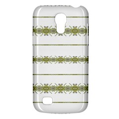 Ethnic Floral Stripes Galaxy S4 Mini by dflcprints