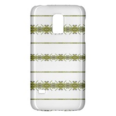 Ethnic Floral Stripes Galaxy S5 Mini by dflcprints