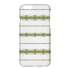 Ethnic Floral Stripes Apple Iphone 6 Plus/6s Plus Hardshell Case by dflcprints