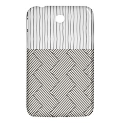 Lines And Stripes Patterns Samsung Galaxy Tab 3 (7 ) P3200 Hardshell Case  by TastefulDesigns