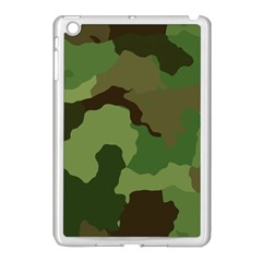 A Completely Seamless Tile Able Background Design Pattern Apple Ipad Mini Case (white) by Amaryn4rt