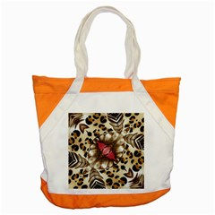 Animal Tissue And Flowers Accent Tote Bag by Amaryn4rt
