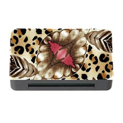 Animal Tissue And Flowers Memory Card Reader With Cf by Amaryn4rt