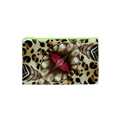 Animal Tissue And Flowers Cosmetic Bag (xs) by Amaryn4rt
