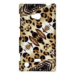Background Fabric Animal Motifs And Flowers Nokia Lumia 720 by Amaryn4rt