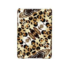Background Fabric Animal Motifs And Flowers Ipad Mini 2 Hardshell Cases