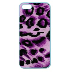 Background Fabric Animal Motifs Lilac Apple Seamless Iphone 5 Case (color) by Amaryn4rt