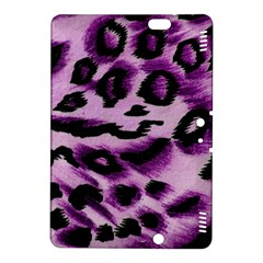 Background Fabric Animal Motifs Lilac Kindle Fire Hdx 8 9  Hardshell Case by Amaryn4rt