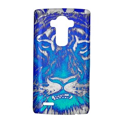 Background Fabric With Tiger Head Pattern Lg G4 Hardshell Case by Amaryn4rt