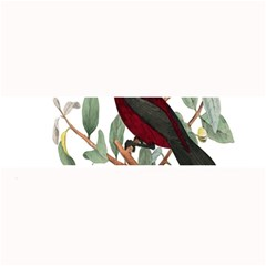 Bird On Branch Illustration Large Bar Mats by Amaryn4rt