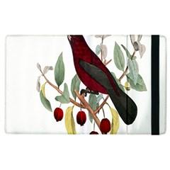 Bird On Branch Illustration Apple Ipad 3/4 Flip Case by Amaryn4rt