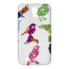 Birds Colorful Floral Funky Samsung Galaxy Mega 6 3  I9200 Hardshell Case by Amaryn4rt